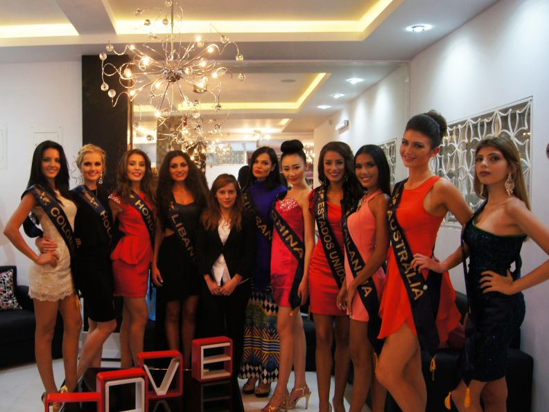 Miss Continentes Unidos (candidates stayed at Destiny Hotel)